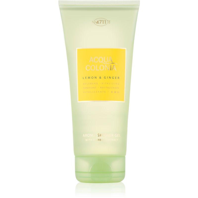 4711 Acqua Colonia Lemon & Ginger żel pod prysznic unisex 200 ml