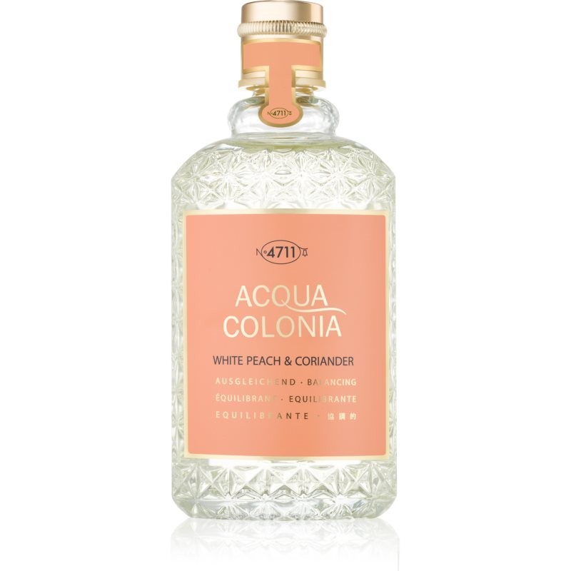 4711 Acqua Colonia White Peach & Coriander woda kolońska unisex 170 ml