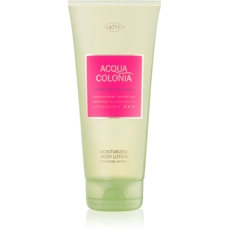 4711 Acqua Colonia Pink Pepper & Grapefruit mleczko do ciała unisex 200 ml