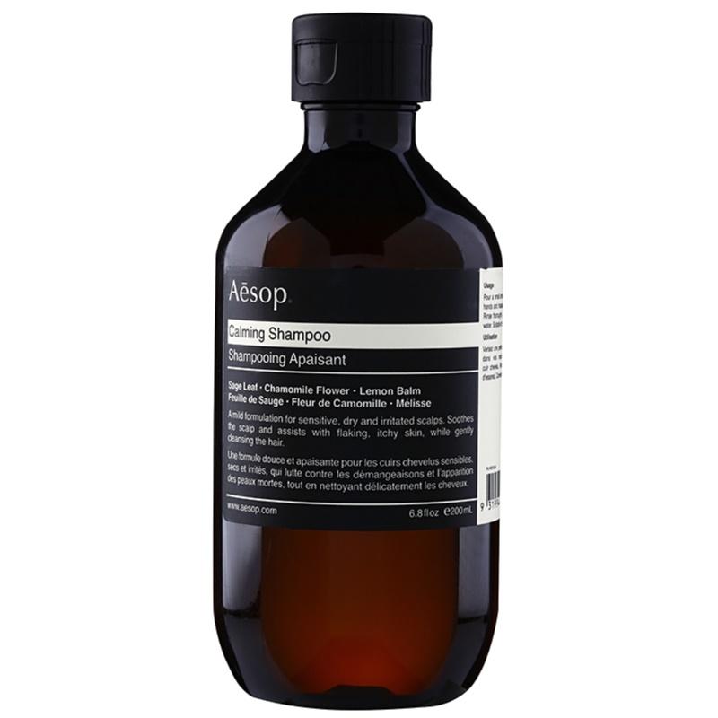 Aēsop Hair Calming kojący szampon Do suchej i swędzącej skóry głowy 200 ml