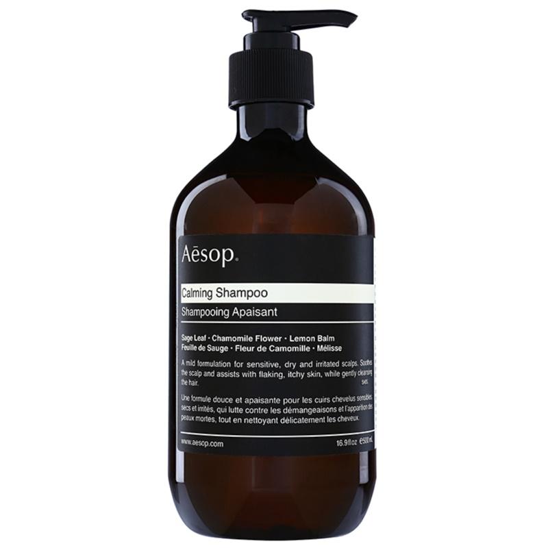 Aēsop Hair Calming kojący szampon Do suchej i swędzącej skóry głowy 500 ml
