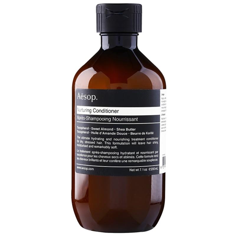 Aēsop Hair Nurturing odżywka odżywiająca do włosów suchych, zniszczonych i po zabiegach chemicznych 200 ml