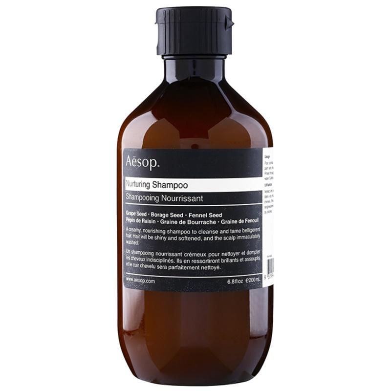 Aēsop Hair Nurturing szampon odżywczy do włosów trudno poddających się stylizacji 200 ml