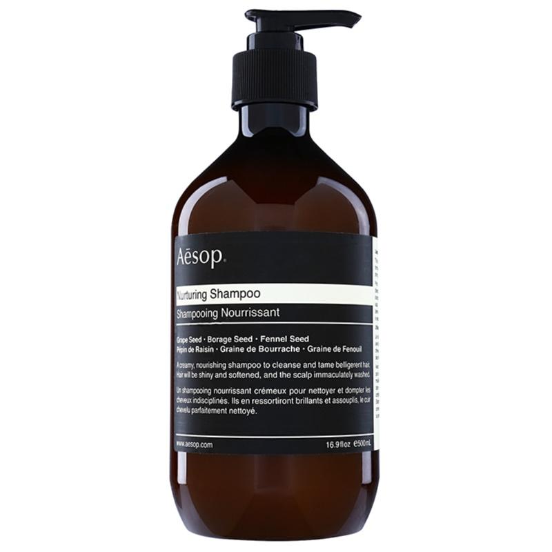 Aēsop Hair Nurturing szampon odżywczy do włosów trudno poddających się stylizacji 500 ml