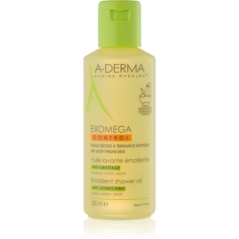 A-Derma Exomega zmiękczający olejek pod prysznic do skóry suchej i atopowej 200 ml