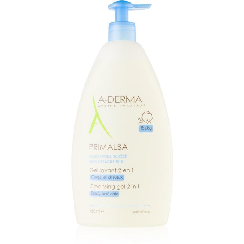 A-Derma Primalba Baby żel do mycia ciała i włosów dla dzieci 750 ml