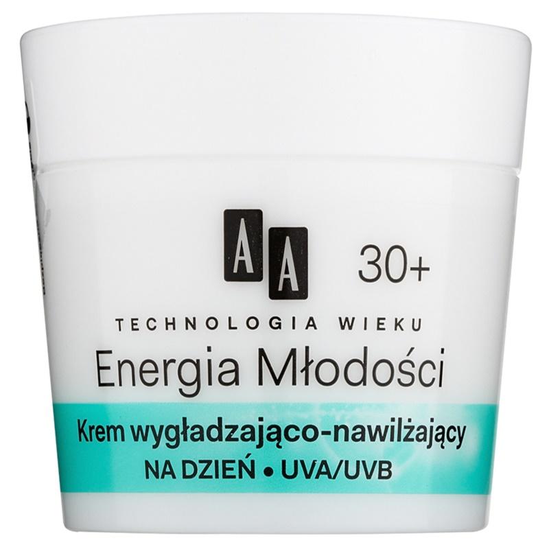AA Cosmetics Age Technology Youthful Vitality krem nawilżający i wygładzający 30+ 50 ml