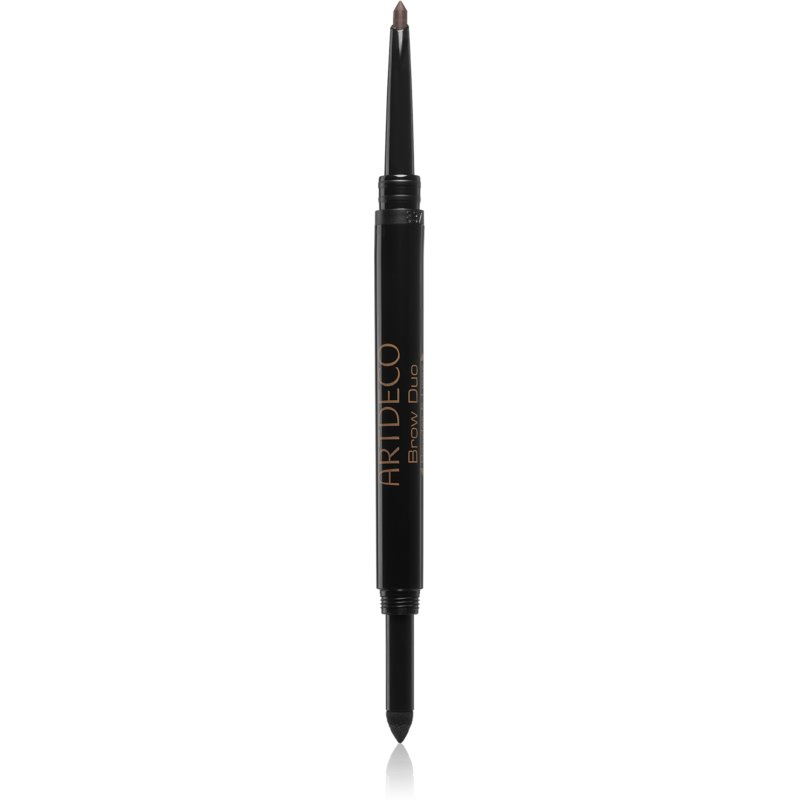 Artdeco Brow Duo Powder & Liner kredka i puder do brwi 2 w 1 odcień 12 Ebony 0,8 g
