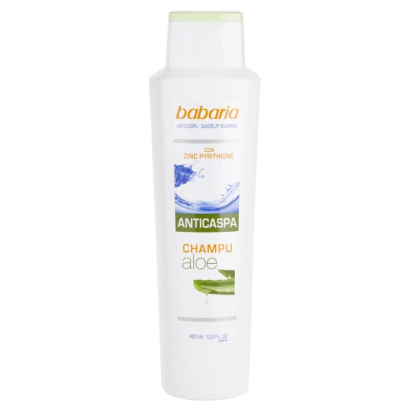 Babaria Anticaspa szampon przeciwłupieżowy z aloesem 400 ml