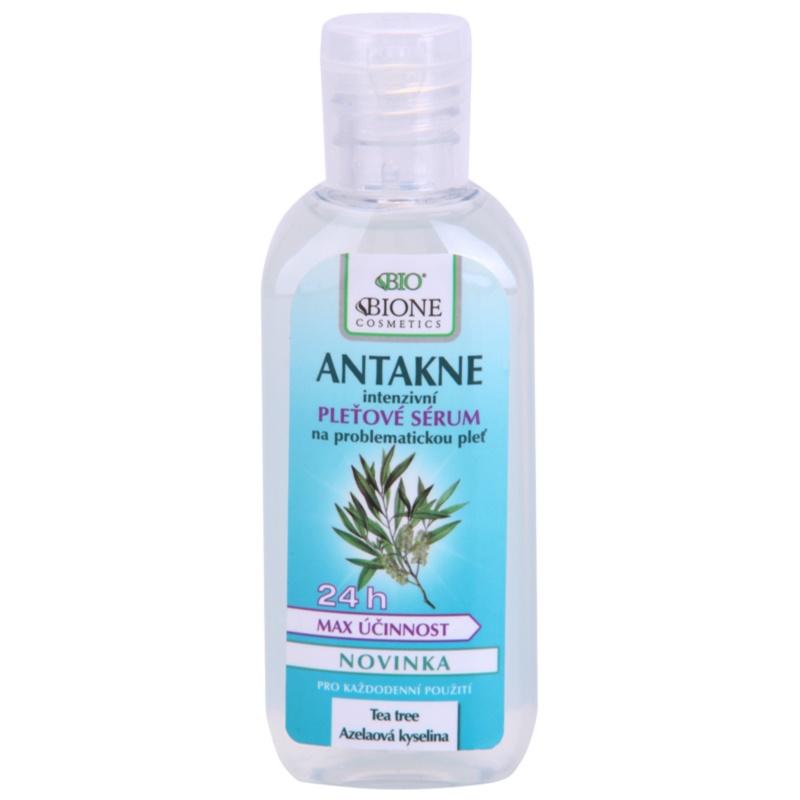 Bione Cosmetics Antakne serum do twarzy do cery tłustej i problematycznej 80 ml