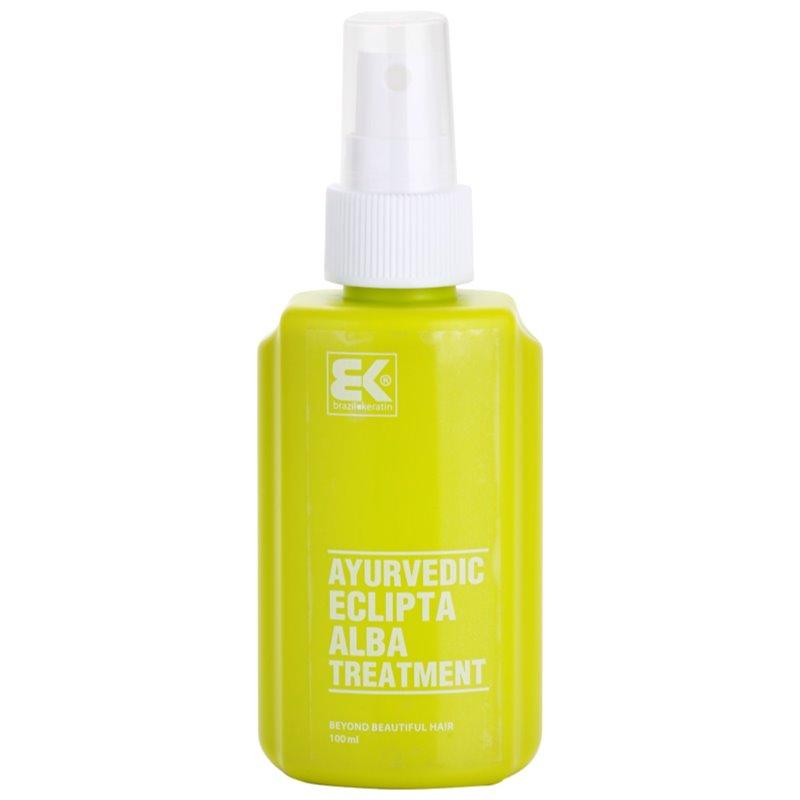 Brazil Keratin Ayurvedic Eclipta serum rewitalizujące na porost włosów i wzmocnienie cebulek 100 ml