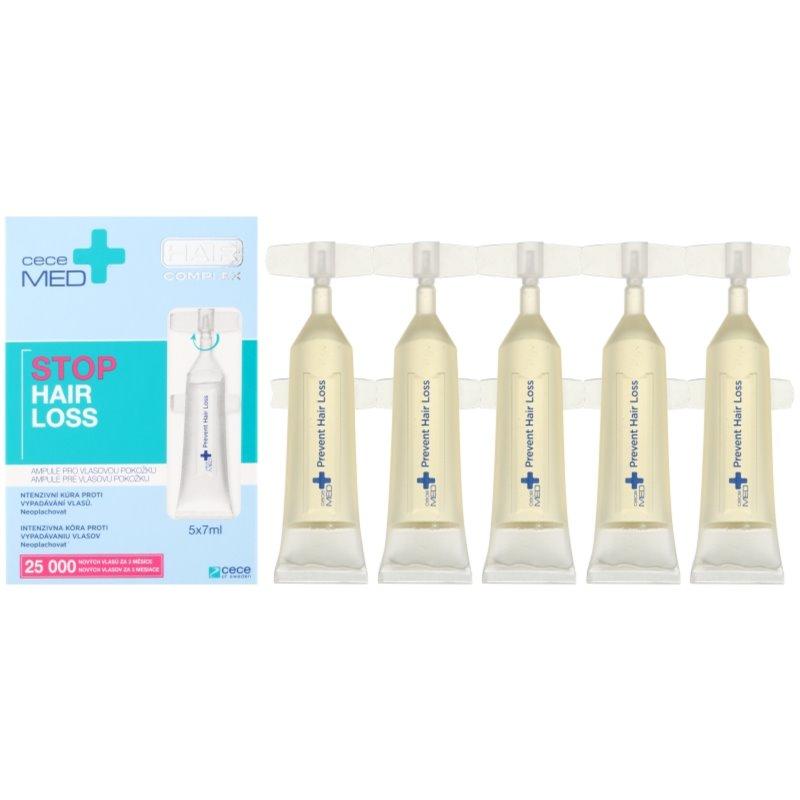Cece of Sweden Cece Med Stop Hair Loss intensywna kuracja przeciw wypadaniu włosów 5 x 7 ml