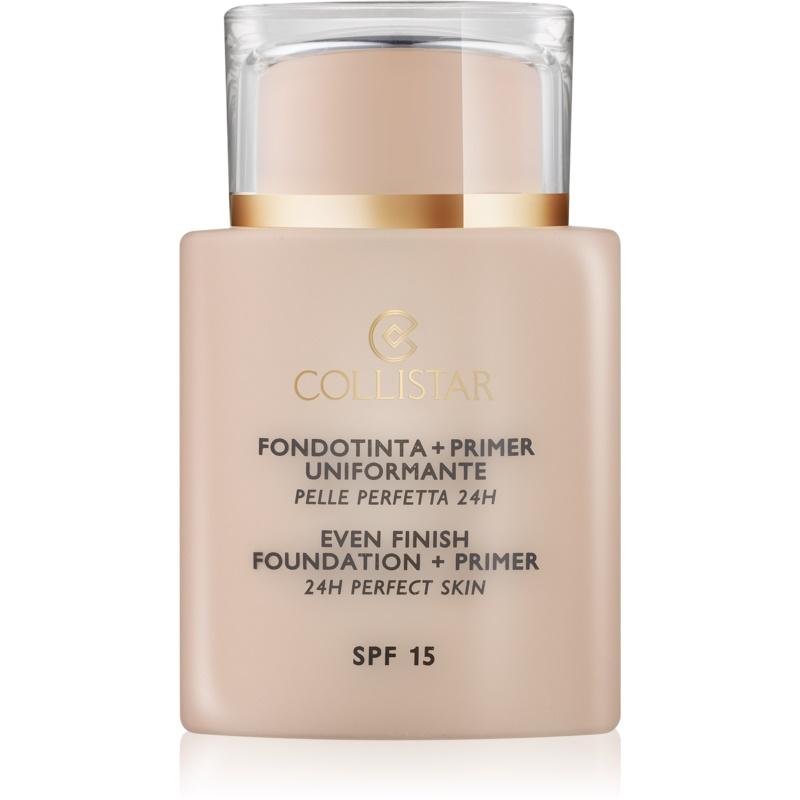 Collistar Foundation Perfect Skin make-up i baza pod podkład SPF 15 odcień 1 Ivory 35 ml