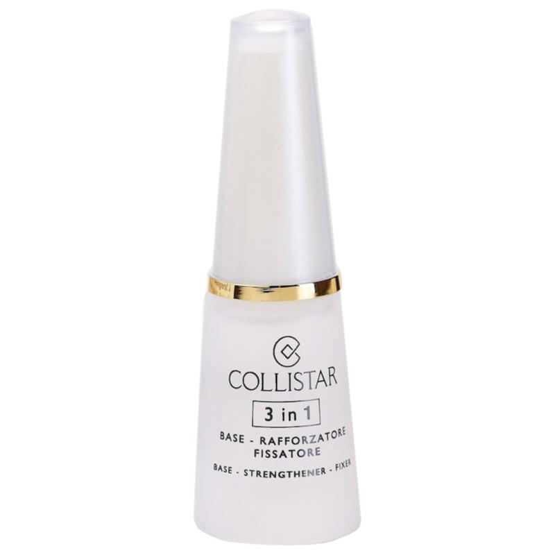 Collistar Nails Base wzmacniający lakier do paznokci 3 w 1 10 ml