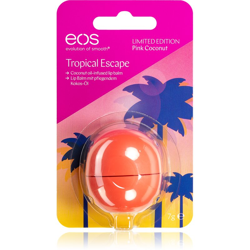 EOS Tropical Escape Pink Coconut balsam do ust 7 g