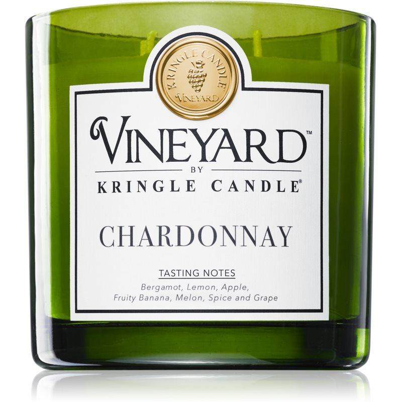 Kringle Candle Vanilla Lavender Chardonnay świeczka zapachowa 737 g
