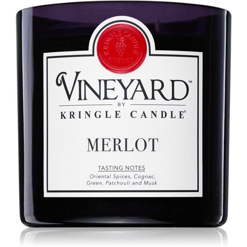 Kringle Candle Vineyard Merlot świeczka zapachowa 737 g