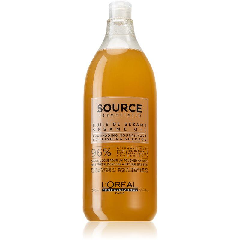 L'Oréal Professionnel Source Essentielle Jasmine Flowers & Sesame Oil szampon odżywczy do włosów suchych i wrażliwych 1500 ml