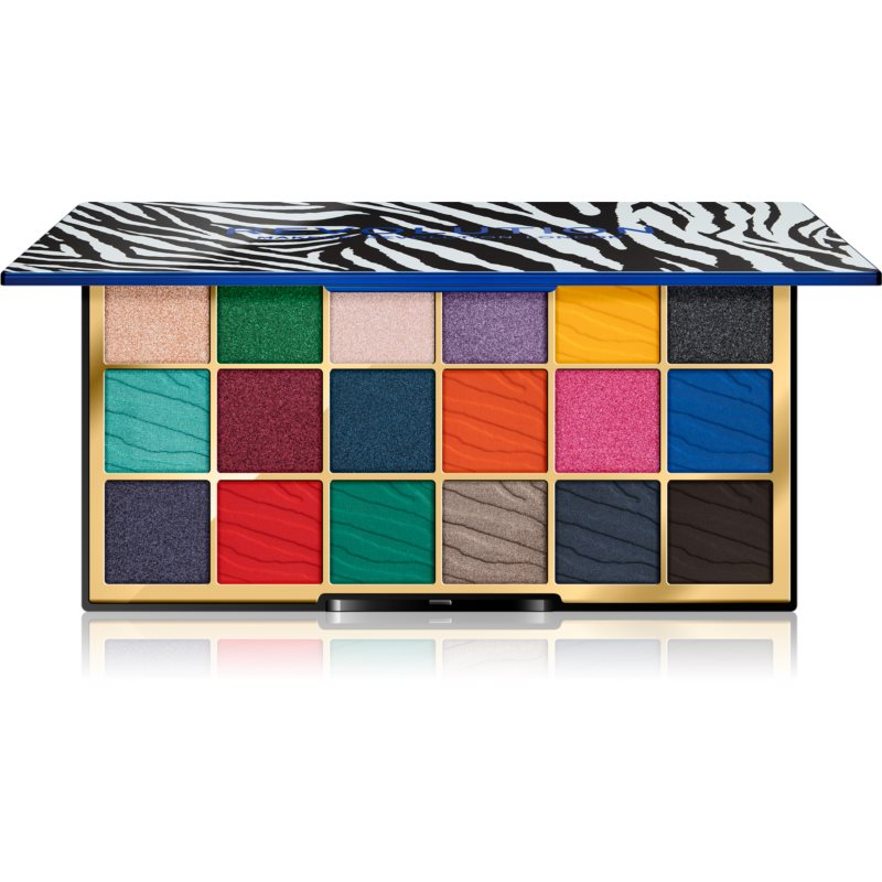 Makeup Revolution Wild Animal Palette paleta cieni do powiek odcień Integrity 18 g