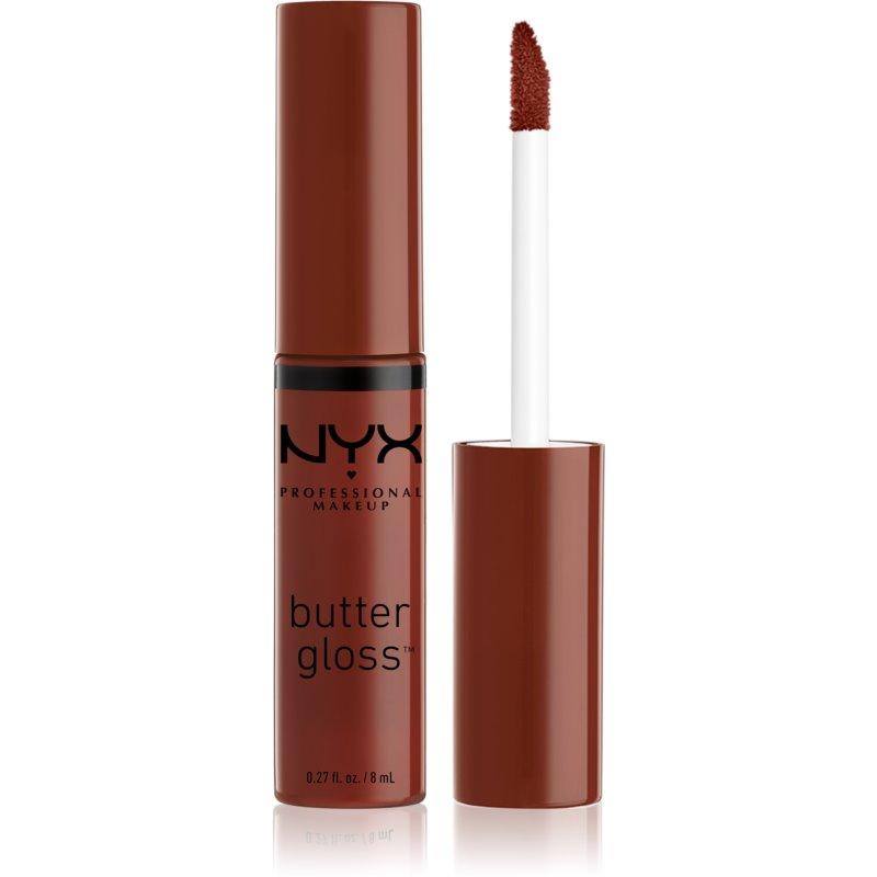 NYX Professional Makeup Butter Gloss błyszczyk do ust odcień 33 Raspberry Pavlova 8 ml