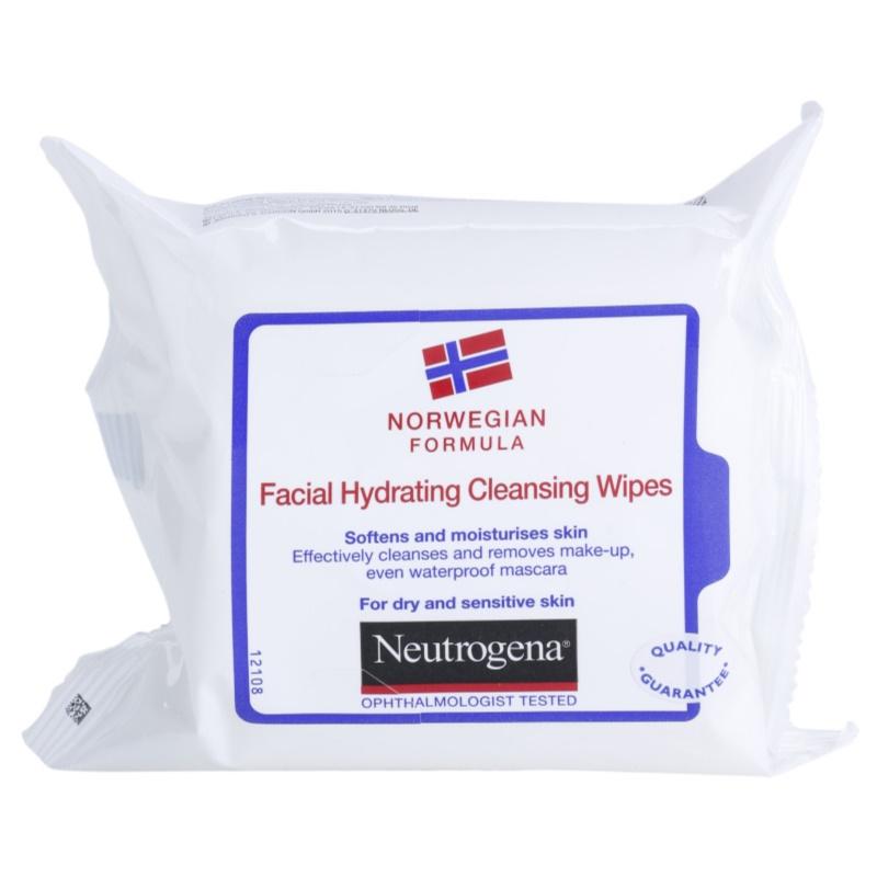 Neutrogena Face Care chusteczki pielęgnacyjne do skóry suchej i wrażliwej 25 szt.