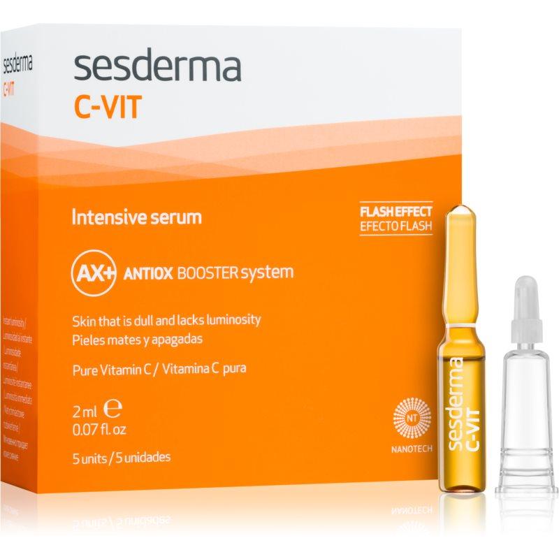 Sesderma C-Vit serum rozjaśniające i odnawiające dający natychmiastowy efekt 5 x 2 ml