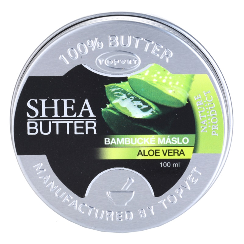 Topvet Shea Butter masło shea z aloesem 100 ml