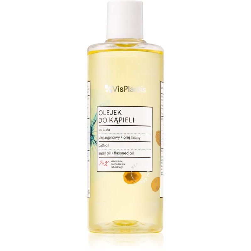 Vis Plantis Herbal Vital Care Argan Oil & Flaxseed Oil olejek do kąpieli 300 ml