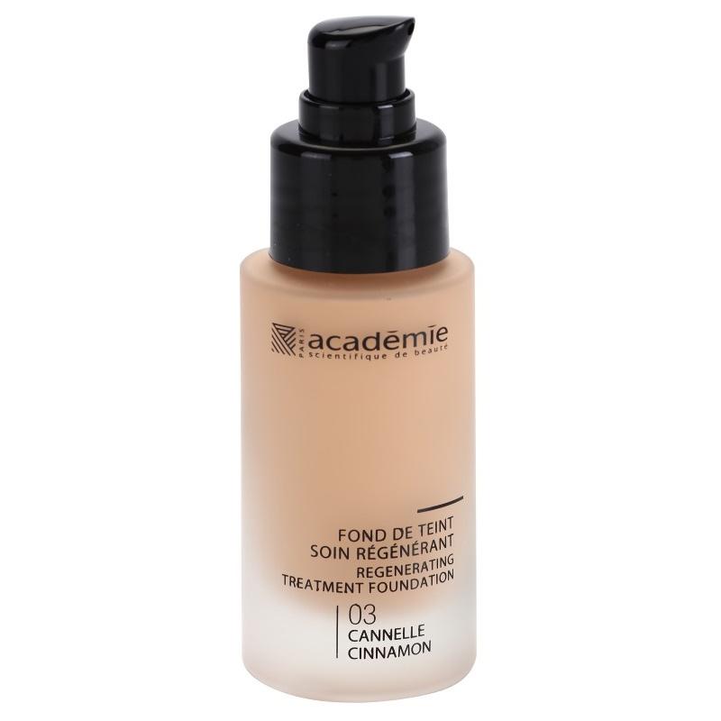 Academie Make-up Regenerating podkład w płynie o dzłałaniu nawilżającym odcień 03 Cinnamon 30 ml