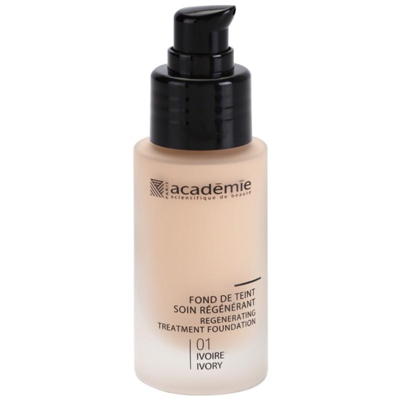 Academie Make-up Regenerating podkład w płynie o dzłałaniu nawilżającym odcień 01 Ivory 30 ml