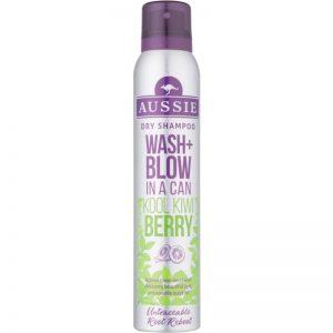 Aussie Wash+ Blow Kool Kiwi Berry suchy szampon 180 ml