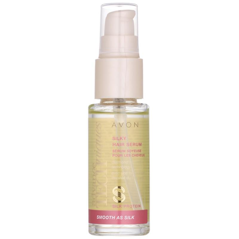 Avon Advance Techniques Smooth As Silk serum do włosów 30 ml