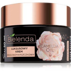 Bielenda Camellia Oil luksusowy krem przeciwzmarszczkowy 40+ 50 ml