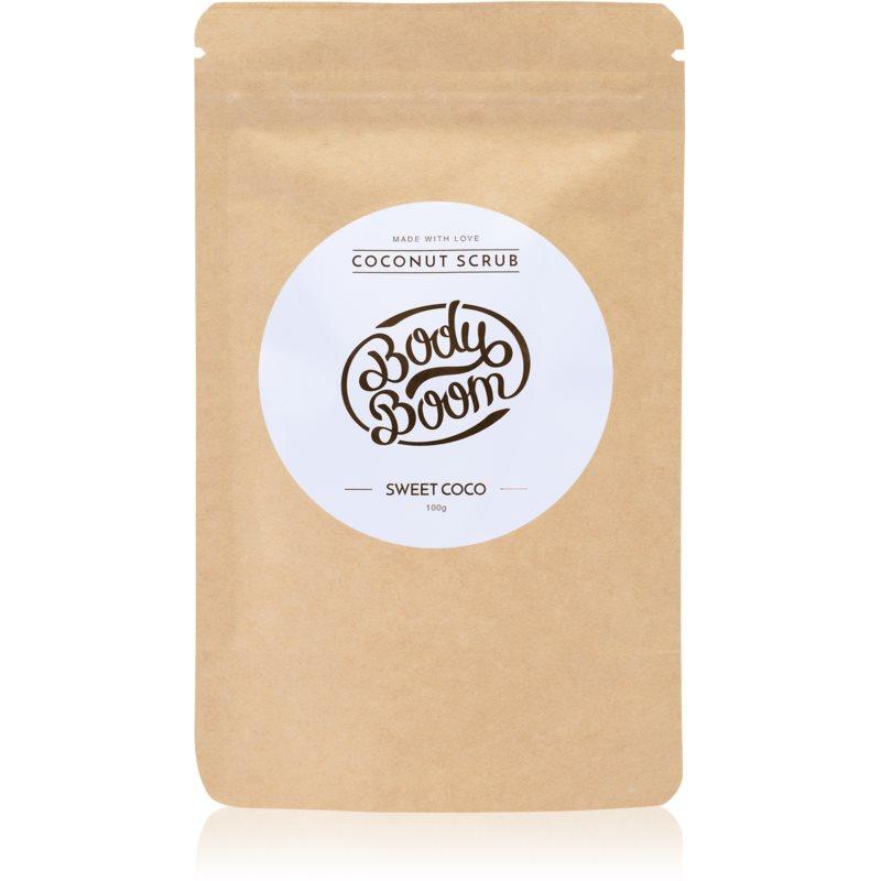 BodyBoom Sweet Coco kawowy peeling do ciała 100 g