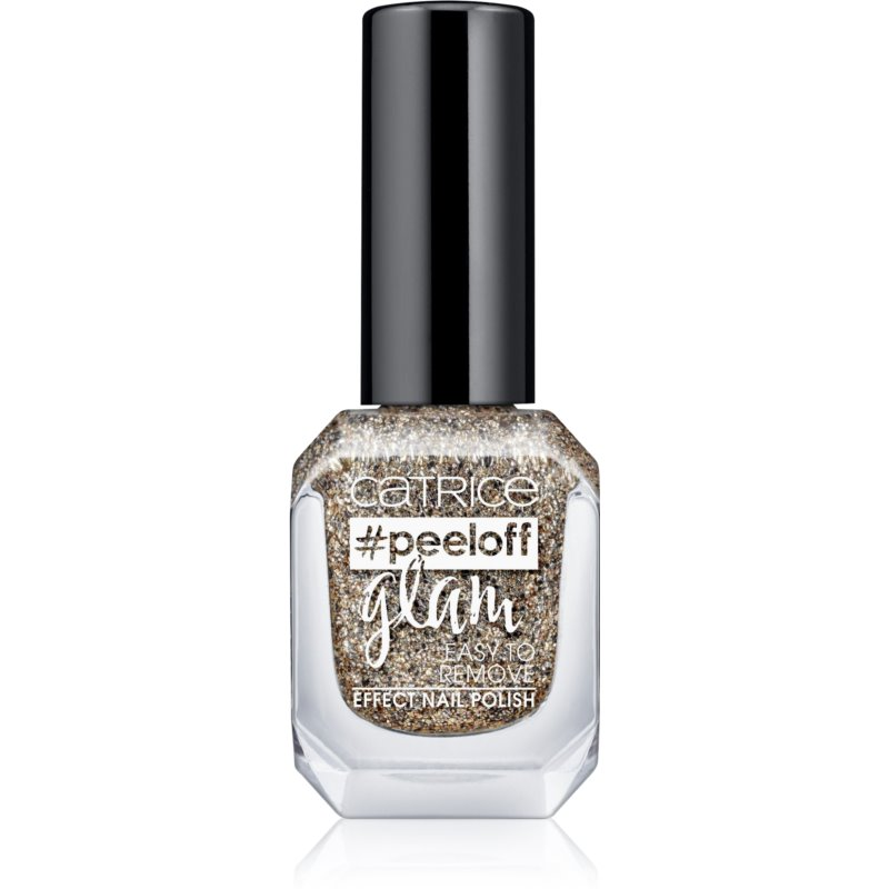 Catrice #peeloff Glam Easy To Remove peel-Off lakier do paznokci odcień 03 When In Doubt, Just Add Glitter