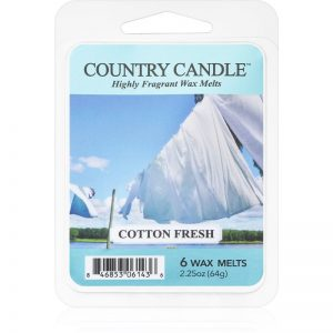 Country Candle Cotton Fresh wosk zapachowy 64 g