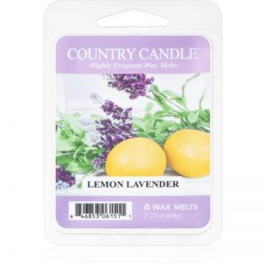 Country Candle Lemon Lavender wosk zapachowy 64 g