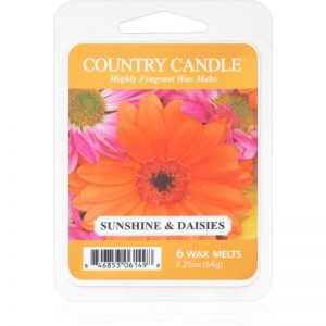 Country Candle Sunshine & Daisies wosk zapachowy 64 g