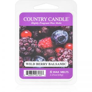 Country Candle Wild Berry Balsamic wosk zapachowy 64 g