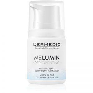 Dermedic Melumin krem na noc przeciw przebarwieniom 55 g