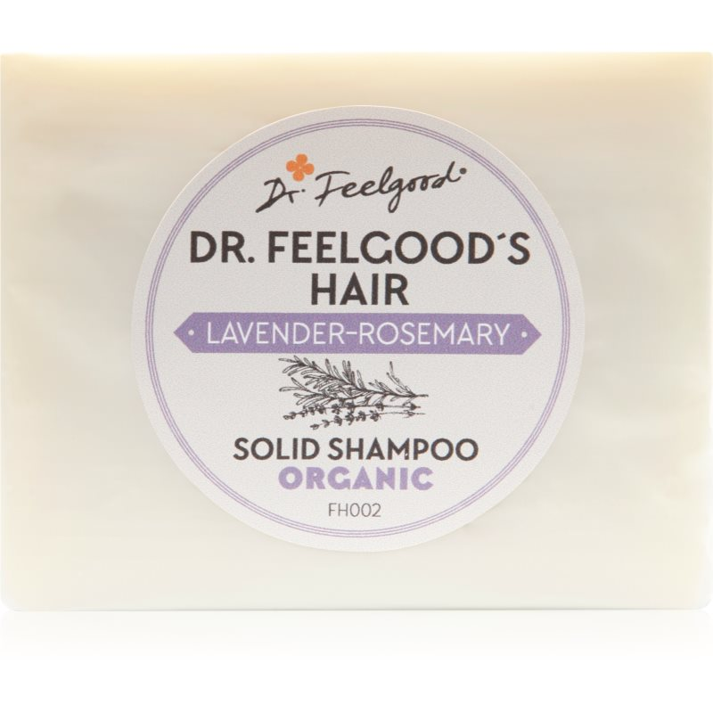 Dr. Feelgood Lavender & Rosemary szampon organiczny 100 g