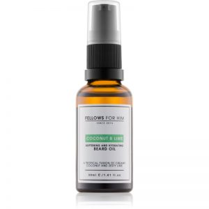Fellows for Him Coconut & Lime olejek do brody natural 30 ml