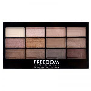 Freedom Pro 12 Audacious 3 paleta cieni do powiek z aplikatorem 12 g