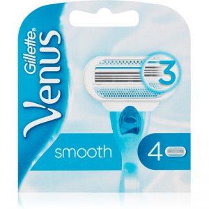 Gillette Venus Smooth zapasowe ostrza 4 szt.