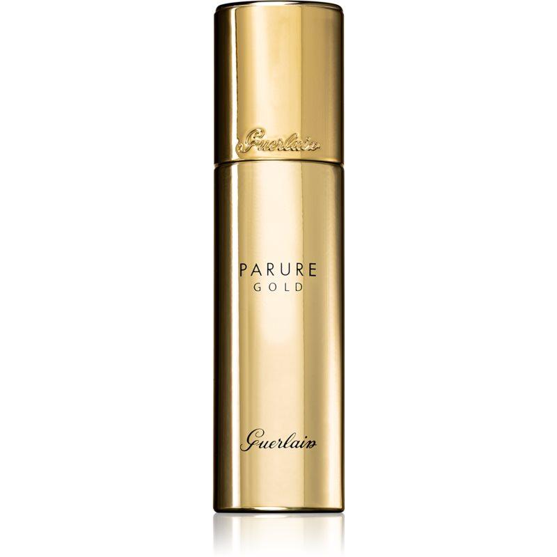 Guerlain Parure Gold rozświetlający podkład we fluidzie SPF 30 odcień 31 Pale Amber 30 ml