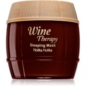 Holika Holika Wine Therapy maseczka na noc przeciw zmarszczkom 120 ml
