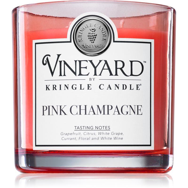 Kringle Candle Vineyard Pink Sparkling Wine świeczka zapachowa 737 g