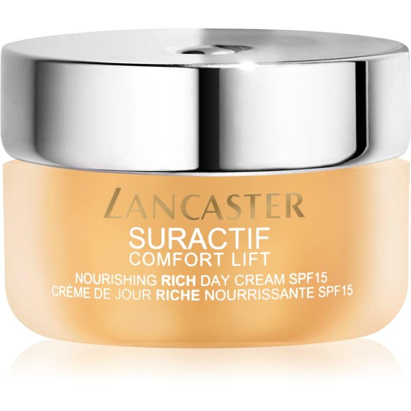 Lancaster Suractif Comfort Lift odżywczy krem liftingujący SPF 15 dla kobiet 50 ml