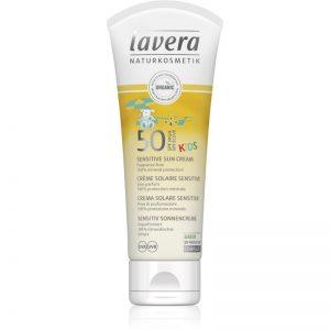 Lavera Sensitive krem do opalania dla dzieci SPF 50 75 ml