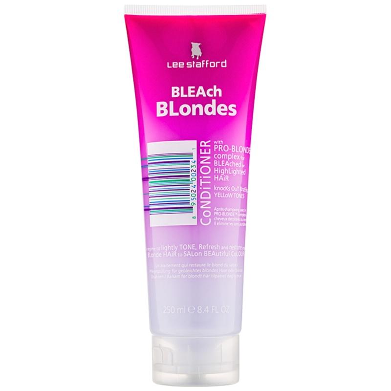 Lee Stafford Bleach Blondes odżywka do włosów blond 250 ml